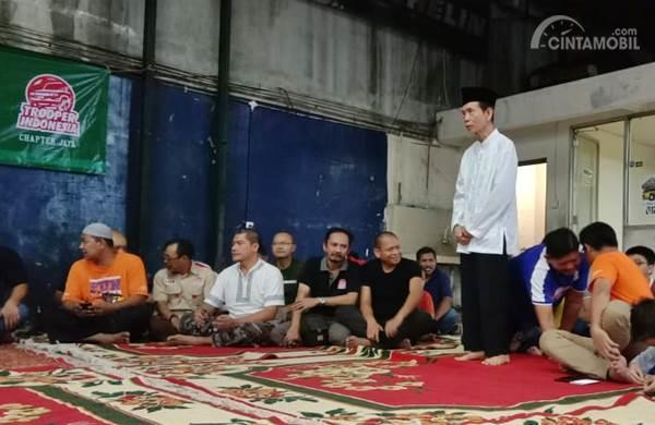 Para anggota Komunitas Trooper Indonesia