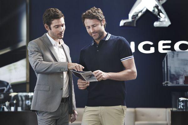 Foto  lustrasi program layanan aftersales dari Peugeot