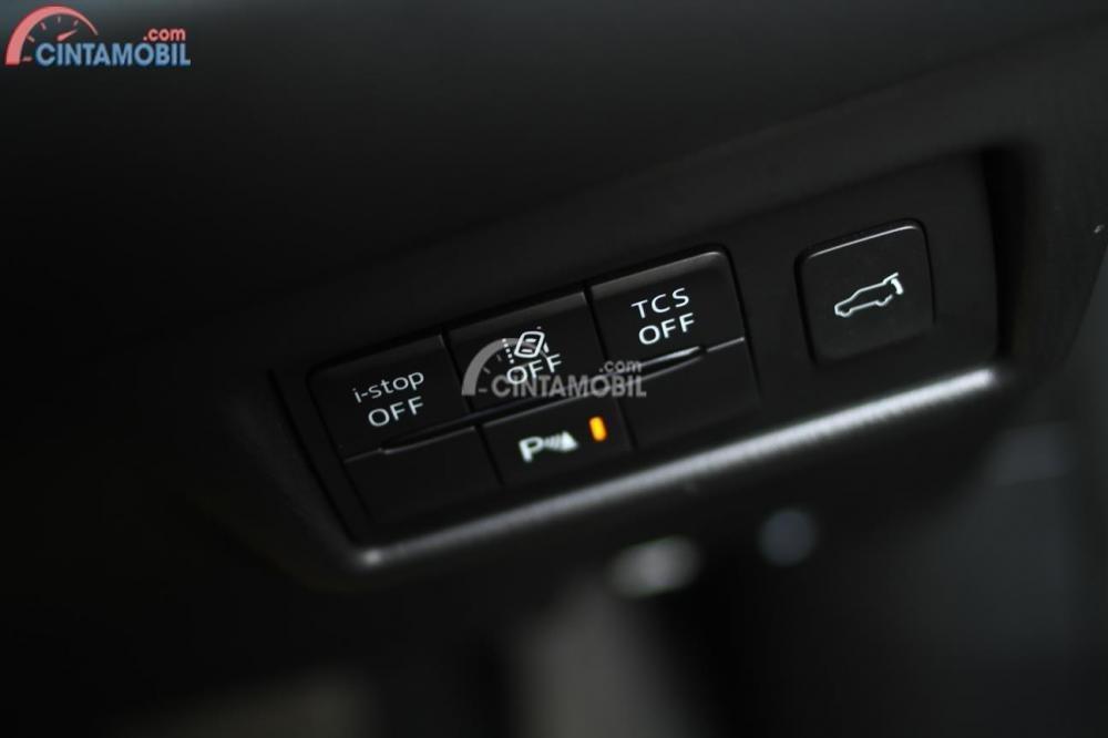 Tampak teknologi i-Stop di All New Mazda CX-5 Elite 2018