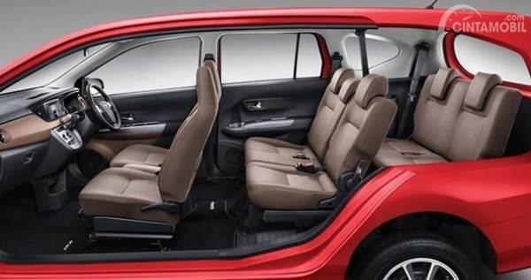 Interior Daihatsu Sigra 2019
