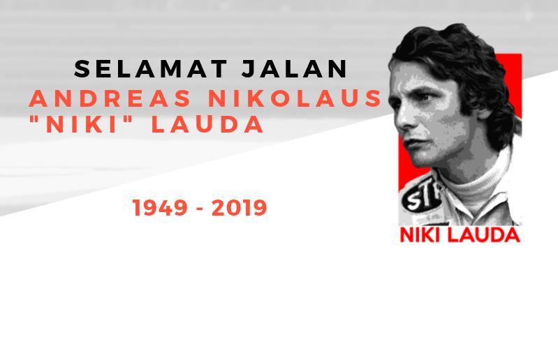 "[INFOGRAFIK] Selamat Jalan Niki Lauda, ""The Rat"" yang Pantang Menyerah"