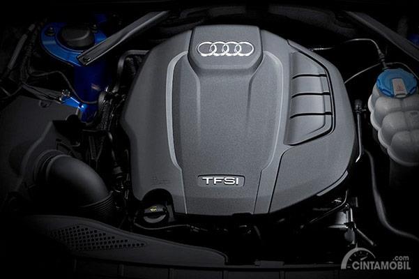 Gambar menunjukkan bahwa Ada banyak pilihan mesin Audi A4 2019
