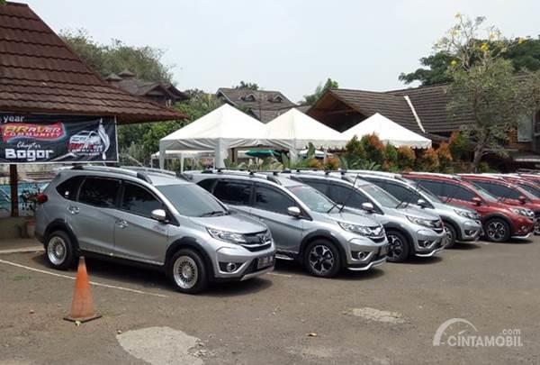 Para mobil member Indonesia BRaVer Community Chapter Bogor