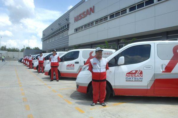 Foto layanan Nissan dan Datsun Siaga mudik Lebaran 2019