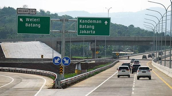 Foto ilustrasi jalan tol Trans Jawa
