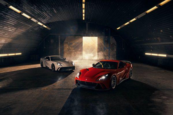 812 N-Largo: Ferrari 812 Paling Bengis Hasil Modifikasi Novitec