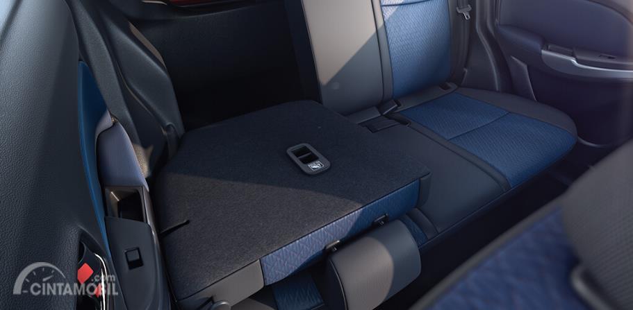 kursi Toyota Glanza 2019 dengan dual tone