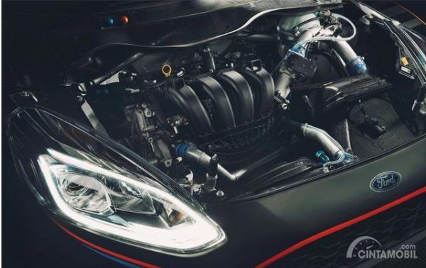 Gambar menunjukkan Mesin All New Ford Fiesta R5 2019