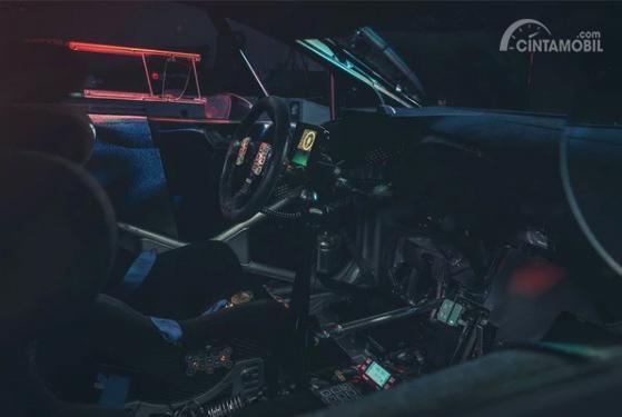 Gambar menujukkan desain layout dasbor All New Ford Fiesta R5 2019