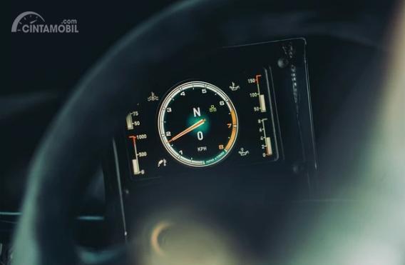 Gambar menujukkan bagian Spidometer All New Ford Fiesta R5 2019