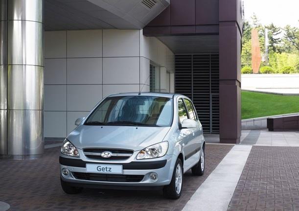 Eksterior Depan Hyundai Getz 2007 kaya akan nuansa elegan khas Eropa