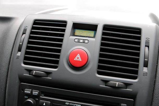 Penyejuk AC Hyundai Getz 2007 terbilang unik, mengingat pengaturannya menerapkan basis Roller