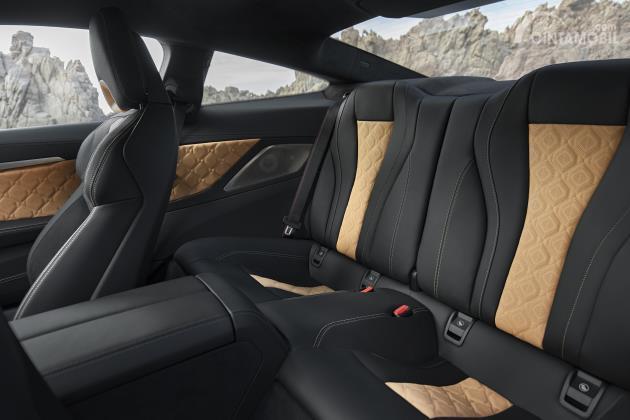 Gambar Bangku belakang BMW M8 Competition Coupe 2020