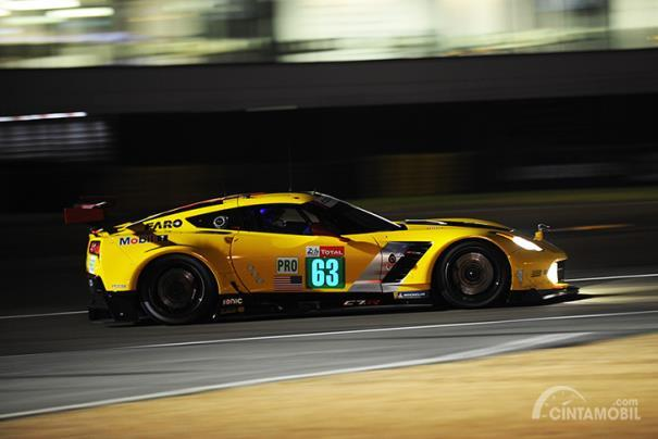 Corvette C7.R saat kualifikasi Le Mans 2018