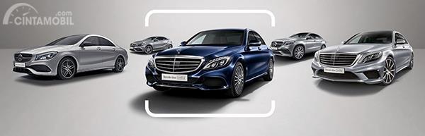 Asalkan tersedia semua lineup mobil bekas Mercedes-Benz bisa dibeli melalui program Mercedes-Benz Certified.