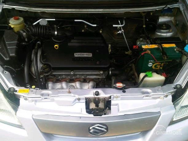 Operasi Mesin Suzuki Aerio 2002 memiliki daya maksimum hingga 100 HP dan torsi puncak 133 Nm