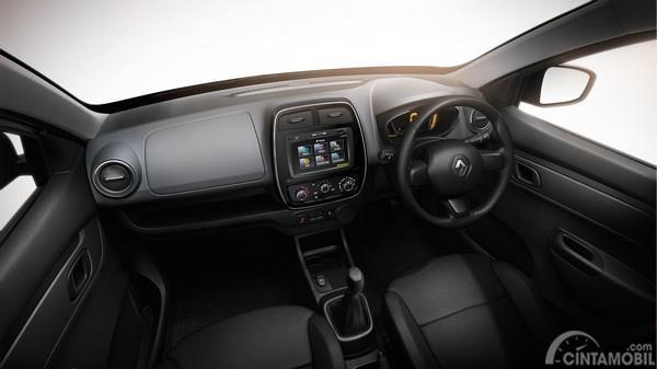 prediksi interior Renault Triber 2019 berwarna hitam