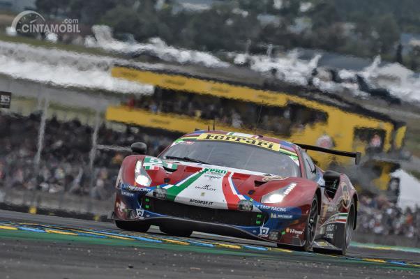 Pemenang GTE Pro Le Mans 24 jam 2019, AF Corse Ferrari 488