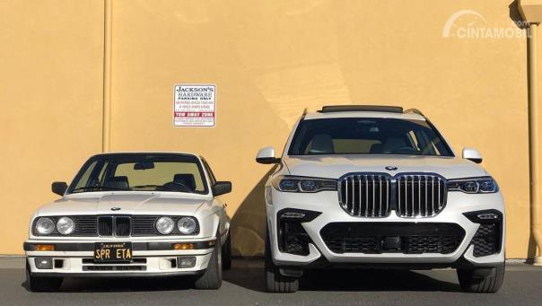 Apa Jadinya Jika BMW E30 Dipasangkan Kidney Grille X7?