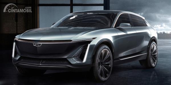 Penampakan mobil konsep Cadillac e-Crossover dengan platform BEV3