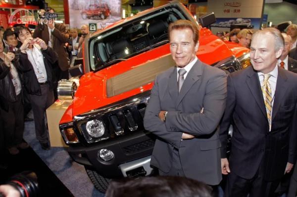 Mobil konsep Hummer H3 Hybrid 2009