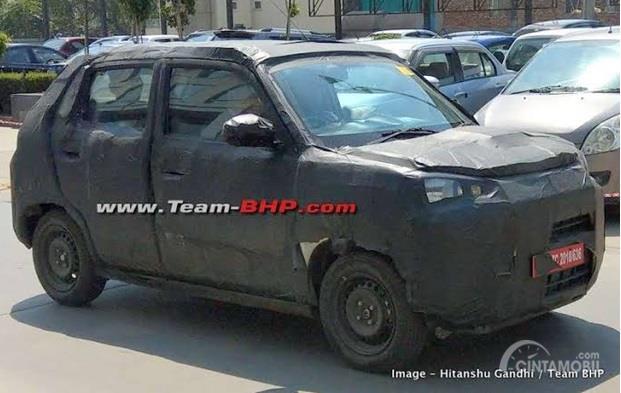 Maruti Suzuki S-Presso mulai diujicoba di jalanan kota India