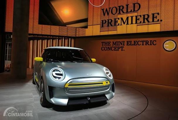 MINI Electric Concept sempat diperkenalkan lebih dulu di tahun 2017