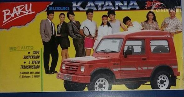 Suzuki Katana Generasi Kedua diluncurkan tahun 1989