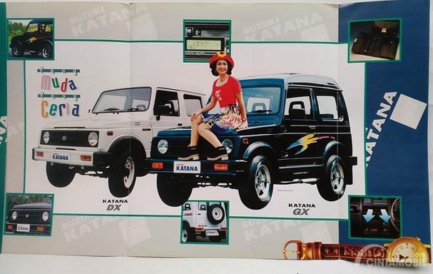 Suzuki Katana Generasi Ketiga hadir pada tahun 1993