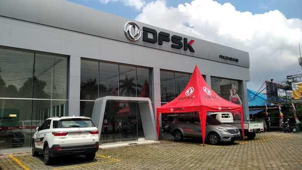 Foto diler baru DFSK di Palembang, Sumatera Selatan