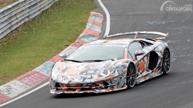 Lamborghini Aventador SVJ, pemegang rekor Nurburgring