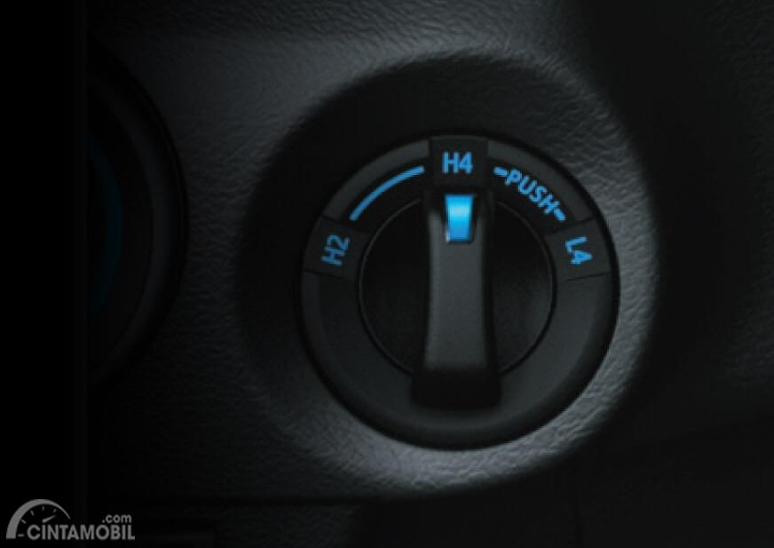 Tuas selector 4x4 Toyota Hilux