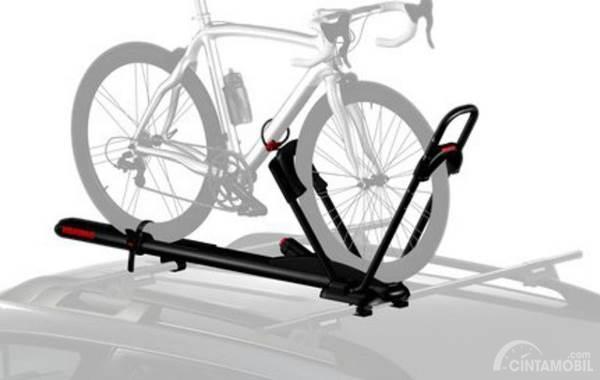 Sisitem pengunci bike rack