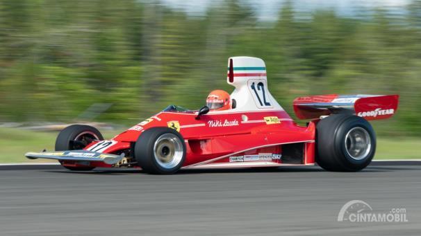 Ferrari 312T yang digunakan Niki Lauda tahun 1975