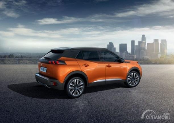 Eksterior Peugeot 2008 menggabungkan model maskulin ala SUV dan agresif bergaya Crossover