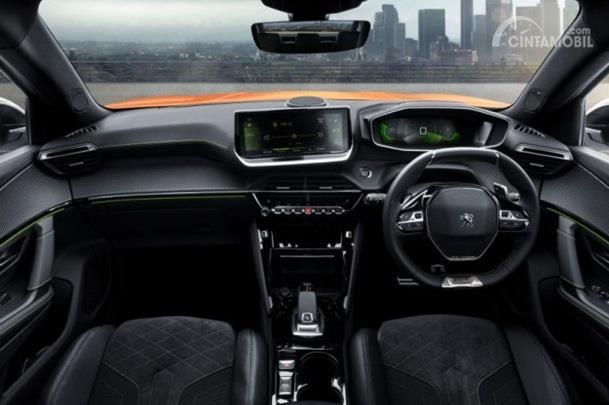 Interior Peugeot 2008 hadir dengan tema i-Cockpit