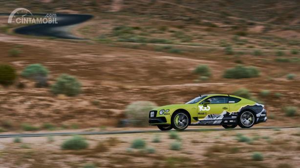 Bentley Continental GT tes jelang penampilan Pikes Peak