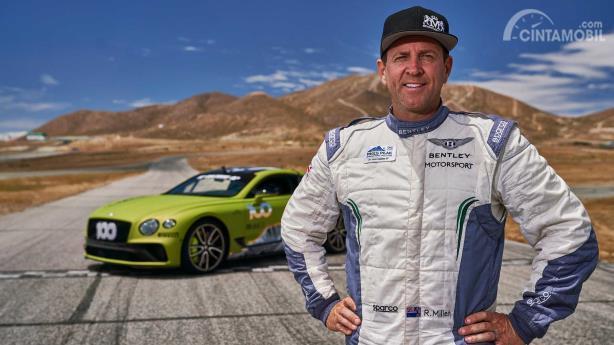 Rhys Millen, pembalap Bentley Continental GT pada Pikes Peak 2019