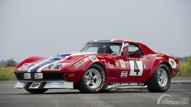Nart Corvette Le Mans 24 jam tahun 1972