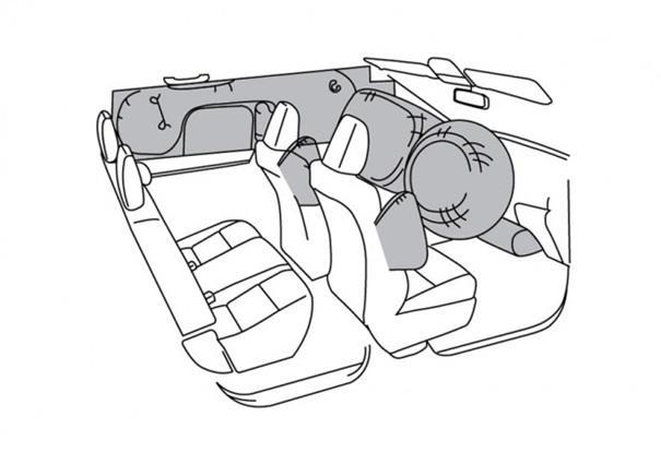 Toyota Hilux D-Cab V hadir dengan 3 Airbags yakni Dual Airbags serta Curtain Airbags