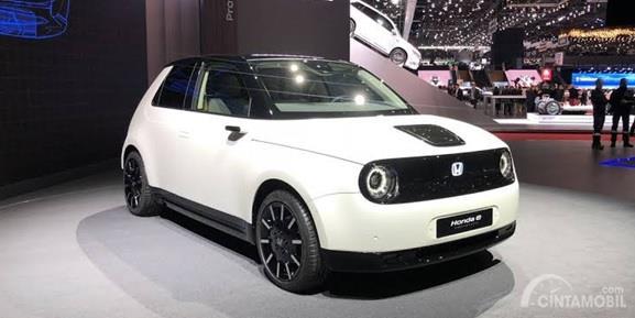 Honda E-Concept Geneva 2019 masih dalam tahap perkenalan saja, belum menghadirkan versi massalnya