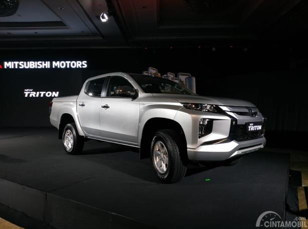Mitsubishi New Triton GLS D-Cab dipamerkan kepada masyarakat Tanah Air pada tanggal 2 Juli 2019