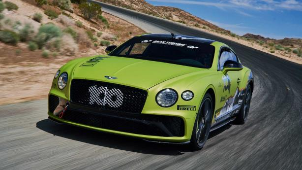 Bentley Continental GT beraksi di Pikes Peak 2019
