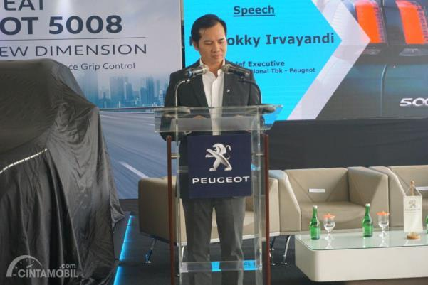 Rokky Irvayandi, Chief Executive Astra Peugeot, peluncuran New Peugeot 5008