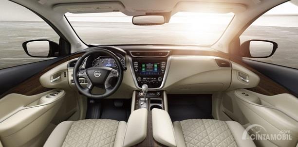 Dashboard Nissan Murano 2019 sudah dilengkapi fitur lengkap mulai dari audio berukuran 8 inci, AC Automatic Climate Control dan fitur lainnya