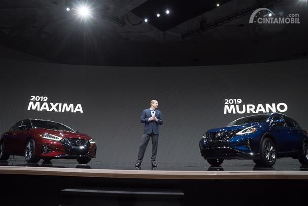 Peluncuran Nissan Murano 2019 dilakukan di acara Los Angeles Auto Show bersamaan dengan peluncuran Nissan Maxima 2019
