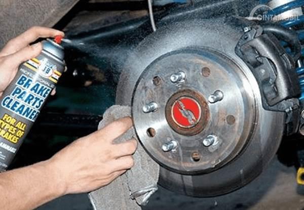 semprot brake cleaner