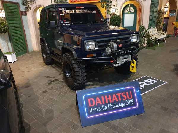 Daihatsu Feroza dengan gaya All-Terrain Off-road atau ALTO