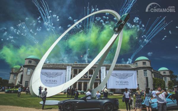 Lima Momen Menarik Dari Goodwood Festival of Speed 2019