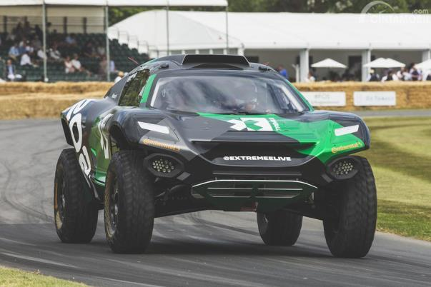 Prototype Extreme E tampil di Goodwood Festival of Speed 2019
